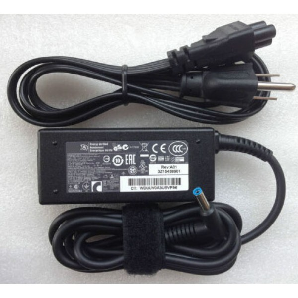19.5V AC Adapter For HP 15-ay192nr Power Supply Cord